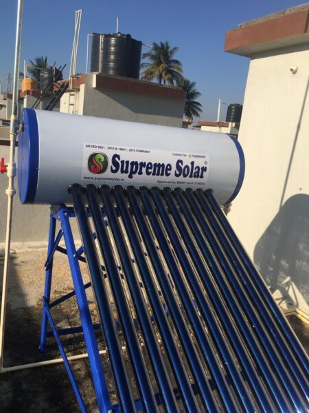 Supreme Solar 165 GL Water Heater 1