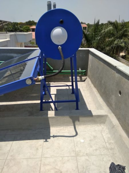 Supreme Solar pressurized Water Heater