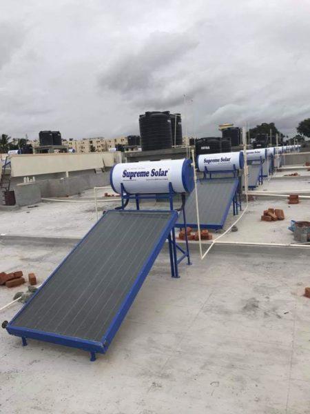 supreme solar 100 ltrs FPC Type Pressurized