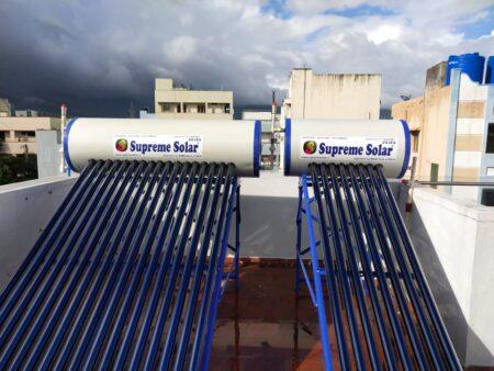 supreme solar 330 ltr vajra