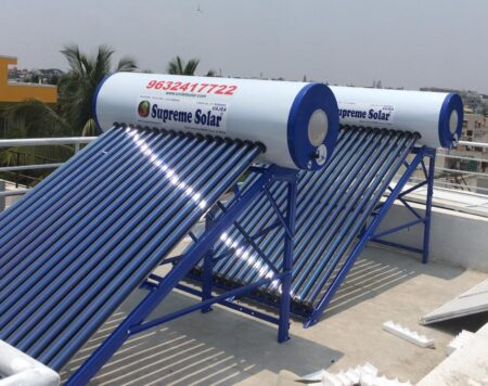 220 ltr Supreme Solar Vajra Pressurized
