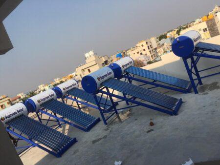 Supreme Solar 110 Ltr GL Water Heater 1