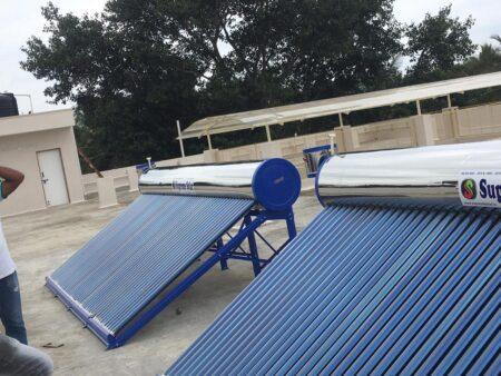 Supreme Solar 500 LPD SS Water Heater 1