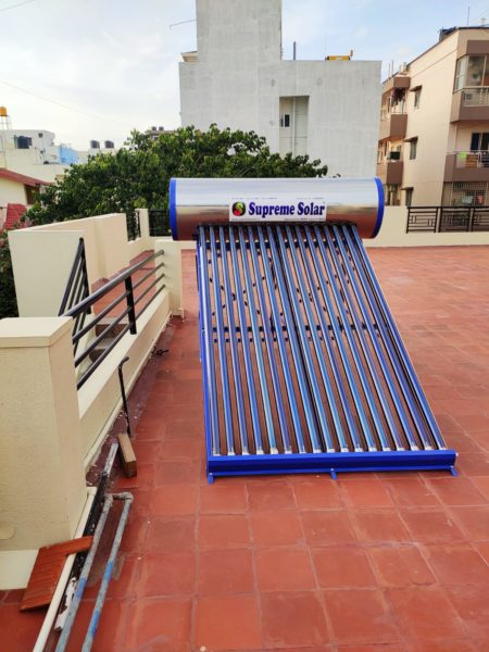 Supreme Solar 220 SSGL Water Heater 1
