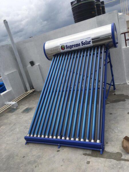supreme solar 220 ltr ETC SS Water heater price