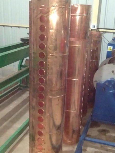 Neutech Copper tanks